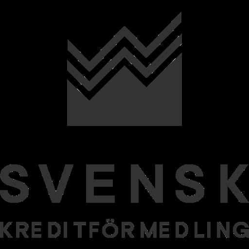 Logotyp svart svenskkreditförmedling